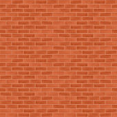 Seamless brick wall background — Stock Vector