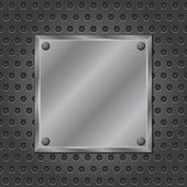 Metal board — Stock Vector