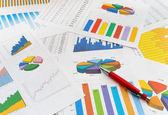 Documentos de finanzas — Foto de Stock