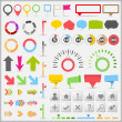 infographic elements — Stock Vector