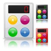 Calculator icon — Stock Vector