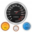 Speedometers - Stock Vector