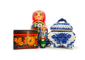 Russian souvenirs — Stock Photo