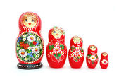 Russian Nesting Dolls — Stockfoto