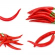 Red hot chili peppers — Stock Photo #8353412