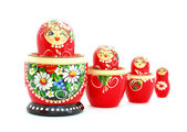 Russian Nesting Dolls — Stock Photo