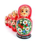 俄罗斯嵌套娃娃 — 图库照片