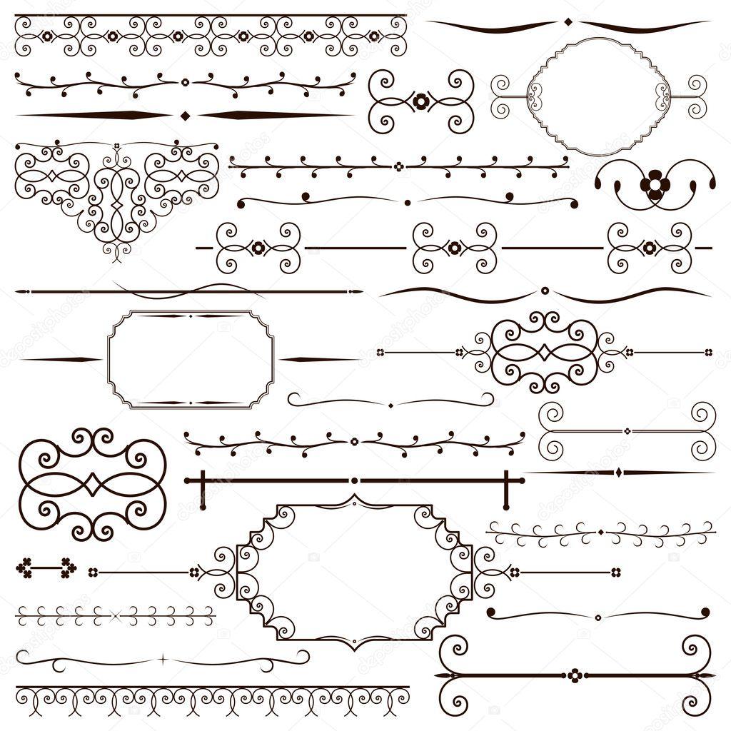 In Design Elements : Vintage design elements — stock vector human