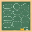 Royalty-Free Stock Vector Image: Hand drawn clouds