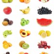 Royalty-Free Stock Photo: Fruits Collage