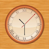 Wall clock — Vector de stock