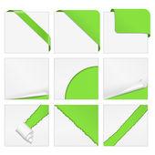 Corner design elements — Stock Vector