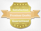 Premium Quality Label — Vector de stock