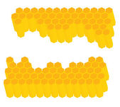 Honeycomb vector background — Vector de stock