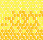 Honeycomb vector background — ストックベクタ