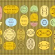 Royalty-Free Stock Vector Image: Vintage labels and elements illustration collection