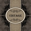 Stock Vector: Vintage vector background for book cover or card