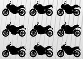 Sport motorbike silhouettes background — Stock Vector