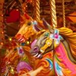 Carousel Horses — Stock Photo #10206853