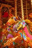 Carousel Horses — Stock Photo