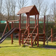 Childrens Climbing Frame — Stock Photo #9859164