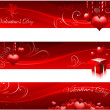 Valentine's day banners — Stock Vector #8293933