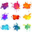 Paint splat — Stock Vector