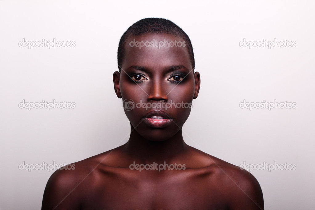 Black african sexy portraits