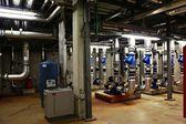 Sala calderas acelerador de particulas // particle accelerator boiler room — Stock Photo