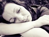 Melancholic women // Mujer melancólica — Stock Photo