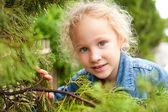 Retrato de criança feliz — Fotografia Stock