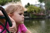 Porträtt av ledsna barn — Stockfoto