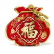 Chinese New Year Gift Bag — Stock Photo