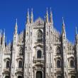 Duomo Milano - italy — Stock Photo #8824856