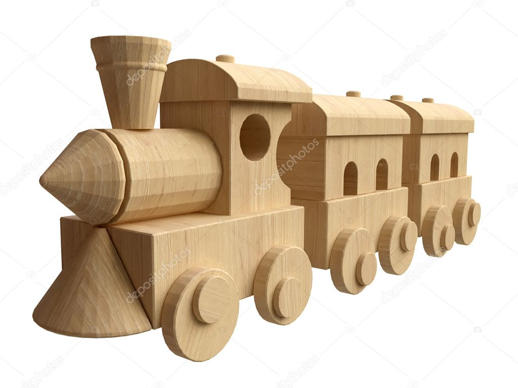build wooden toy train | Quick Woodworking Ideas