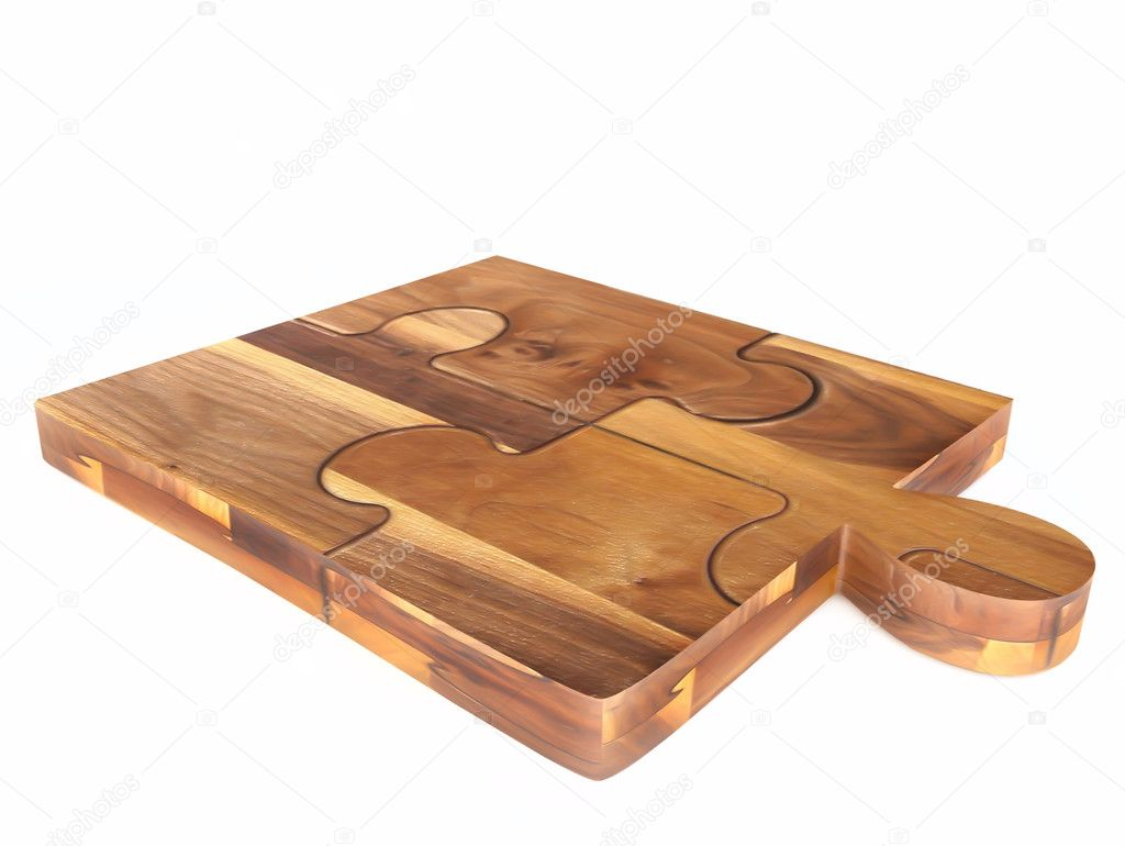 Wooden Chopping Board — Stock Photo © Naira Kalantaryan #