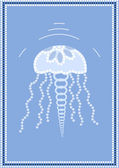 Jellyfish — Stock Vector