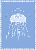 Medúza — Stock vektor