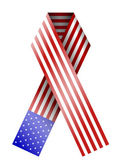 Vector 4th of july ribbon isolated on white. eps10 — Stock Vector
