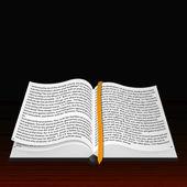 Vector open Bible. Best choice — Stock Vector