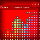 Disco business background. Vector illustration — Stock Vector