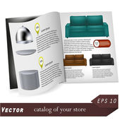 Vector catalog for your design. Best choice — Stock Vector