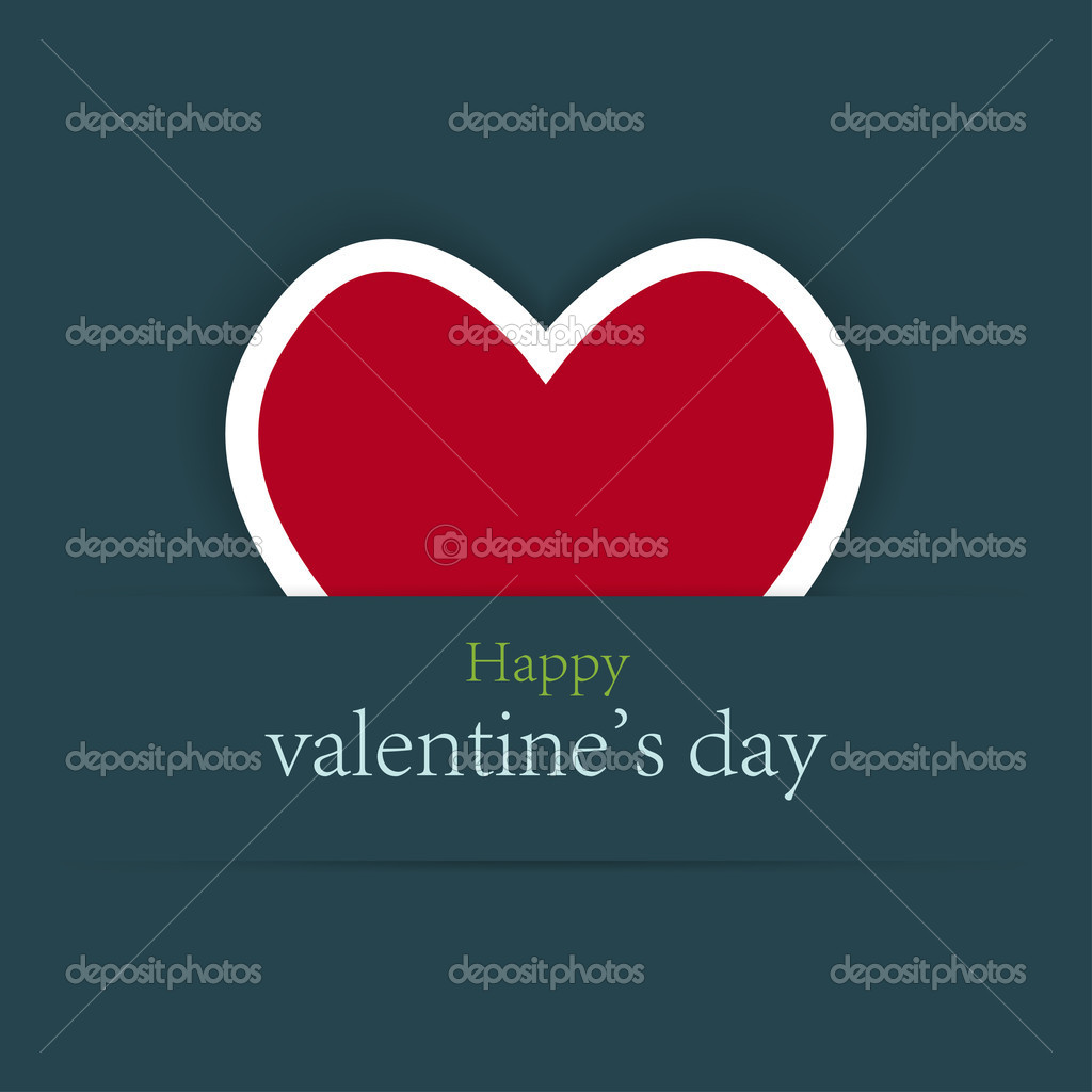 Valentine's day background with place for your test — Stock Vector #8101082
