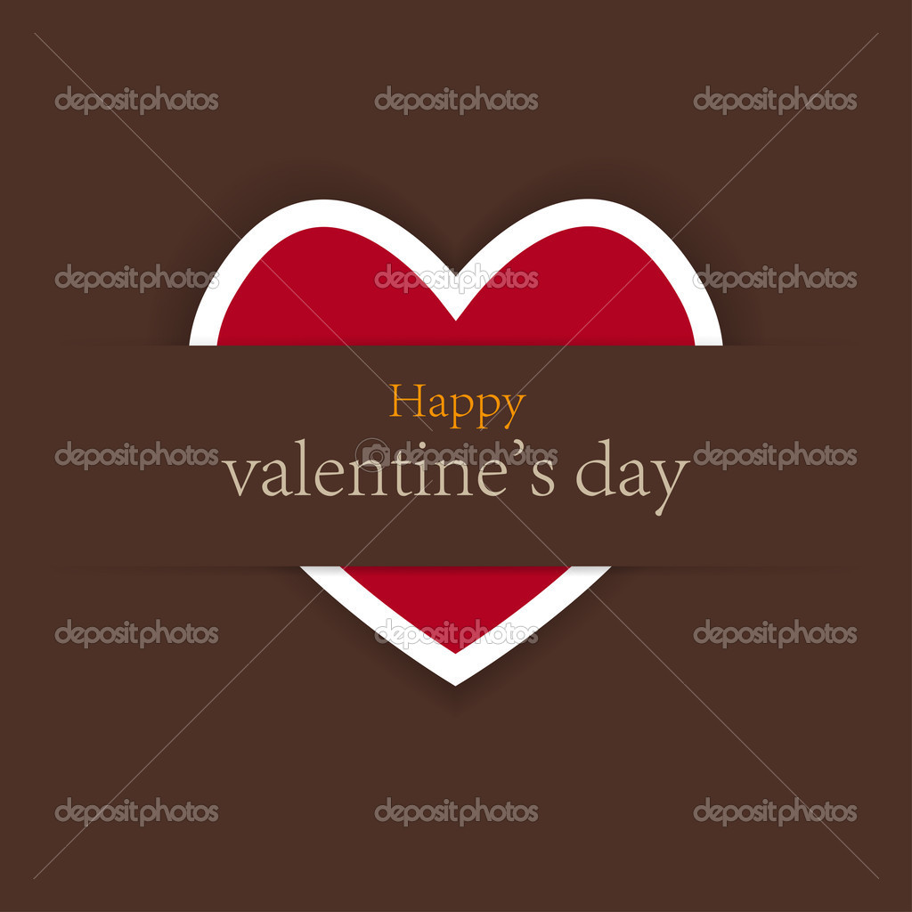 Valentine's day background with place for your test. vector illustration. Best choice — Stock Vector #8125965