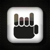 Fingers like a fan. Vector illustration. Best choice — Stock Vector