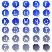 Alphabet set for your design. Vector illustration. best choice — Stock Vector