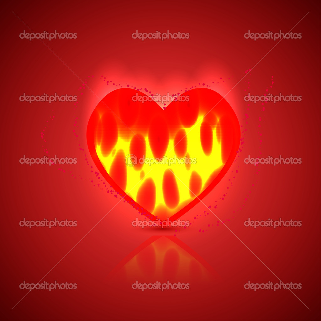 Heart background. Vector illustration. Best choice — Stock Vector #8509909