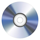 Cd isolated on white. Vector illustration. Best choice — Stock Vector