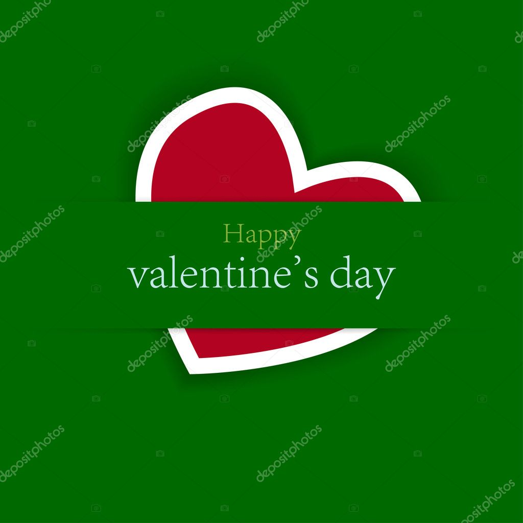 Valentine's day background with place for your text — Stock Vector #8587100