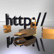 Stock Photo: Http secure